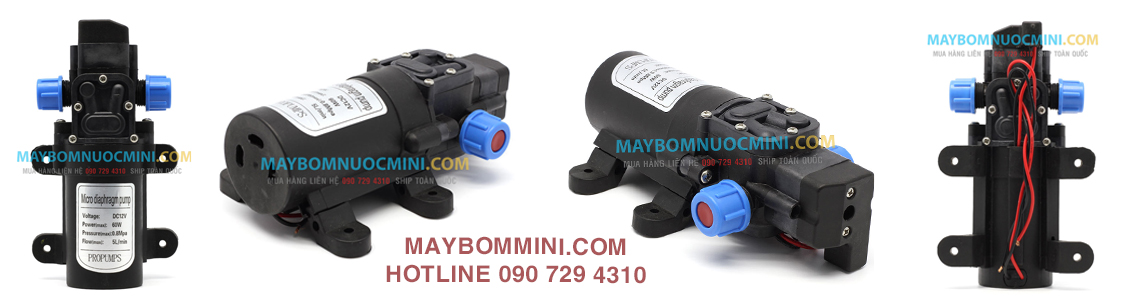 may bom mini ap luc 12v