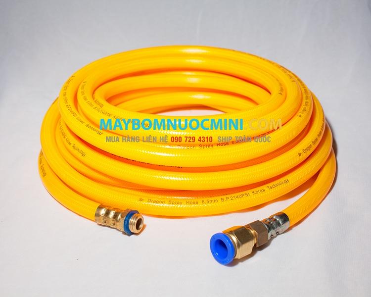 Ống dây rửa xe cho bơm nước mini 12V