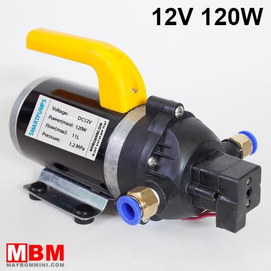máy bơm mini 12v 120w
