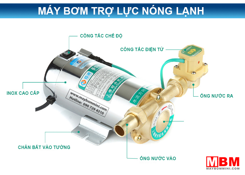 may-bom-tro-luc-may-nuoc-nong