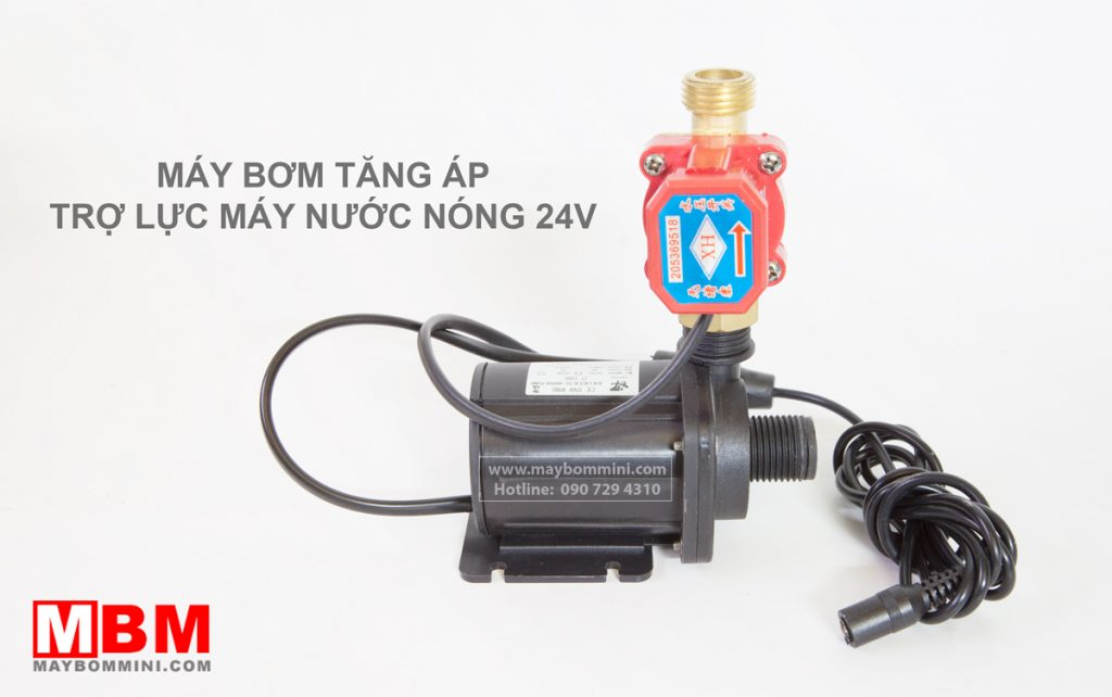 may-bom-tro-luc-may-nuoc-nong-24v