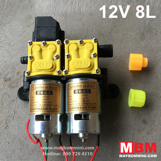 may-bom-ap-luc-mini-12v-loi-kep