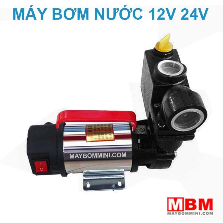 Bom Nuoc Mini 12v 24v Tuoi Cay Tro Luc