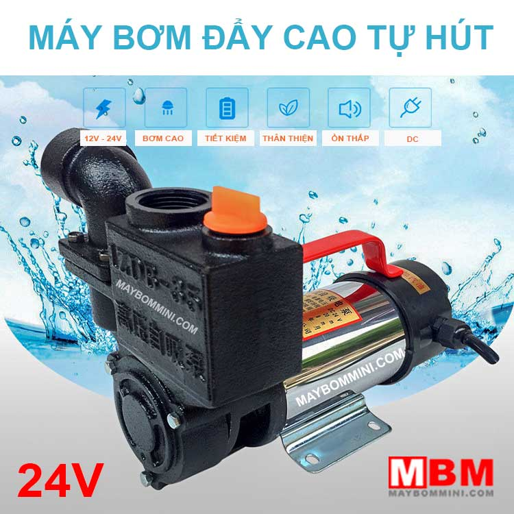 May Bom Cao Tu Hut 24v