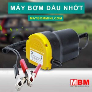 May Bom Nhien Lieu Xang Dau Nhot 12v 24v