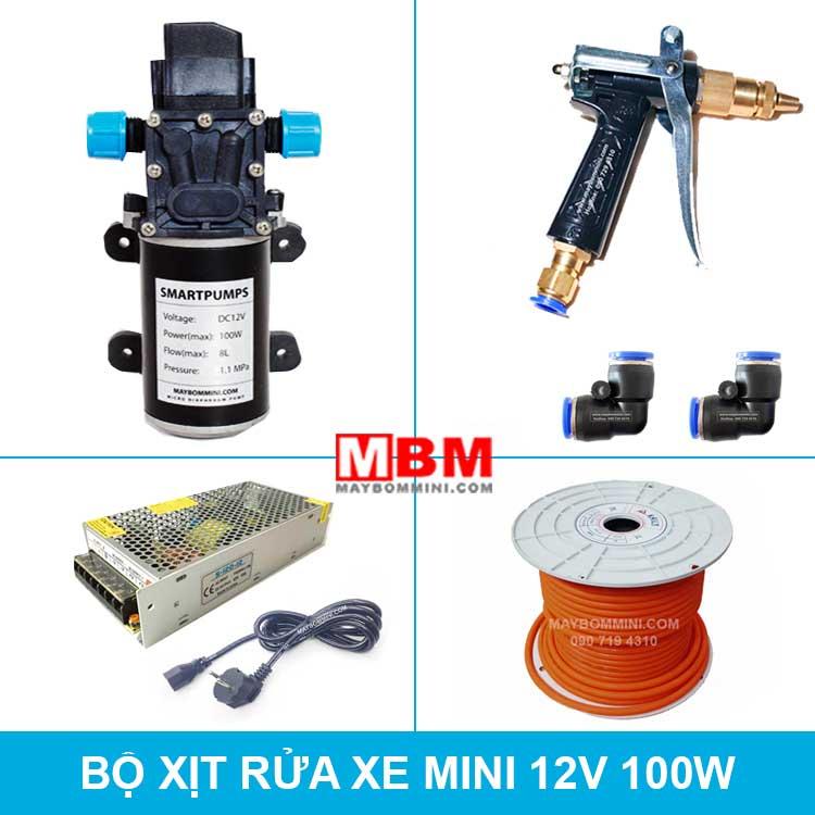 Bo Rua Xe Mini 12v 100w