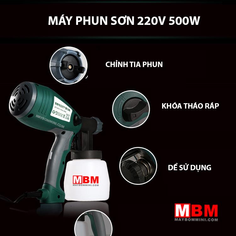 Phun Son Cam Tay Tien Dung