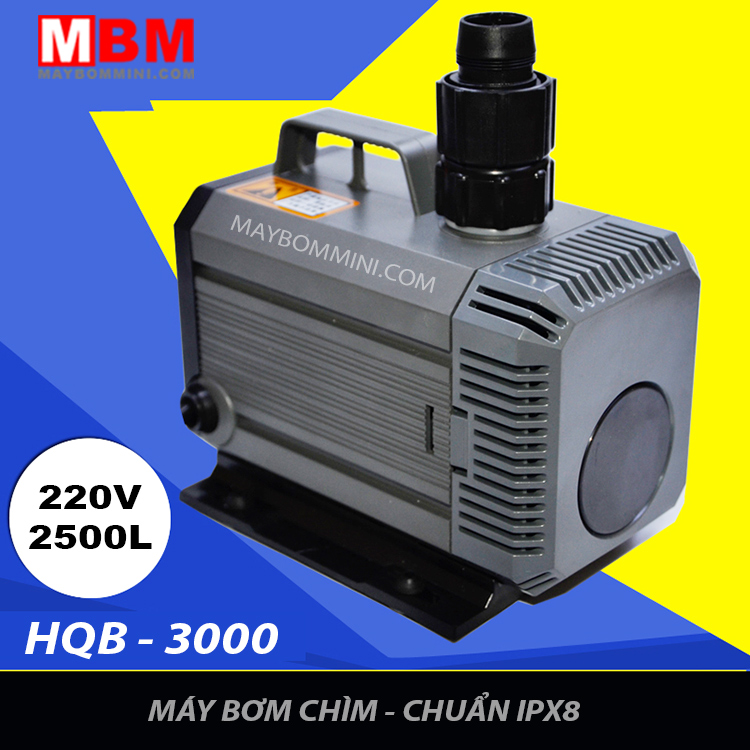 Heavy Spray Submersible Water Pump Tank Filter Circulation Water Fountain Pump Hqb 3000