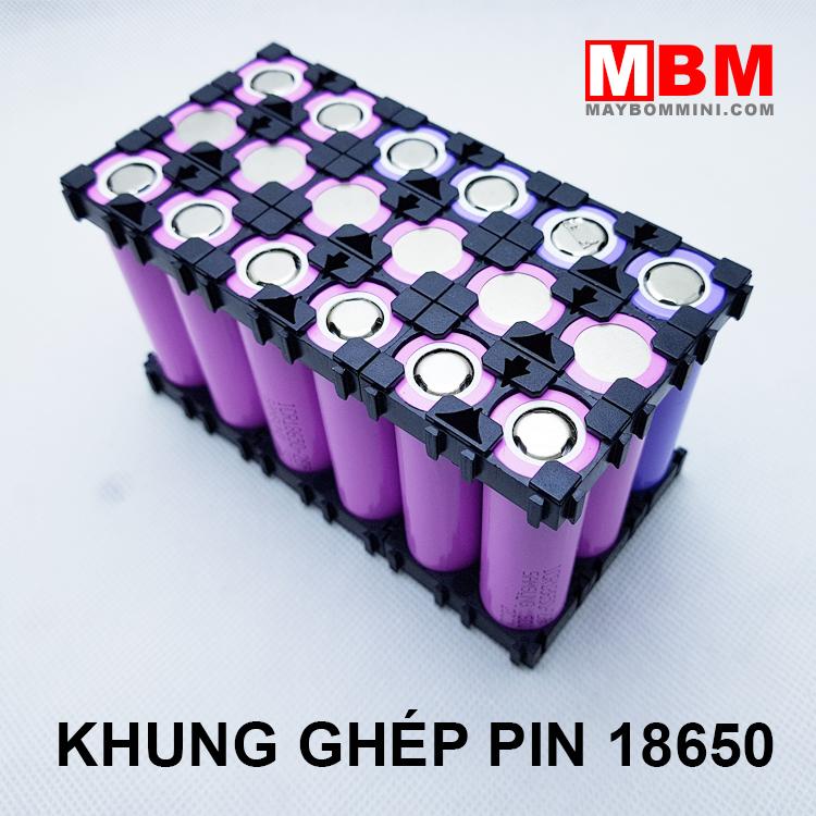 Khung Ghep Pin 18650