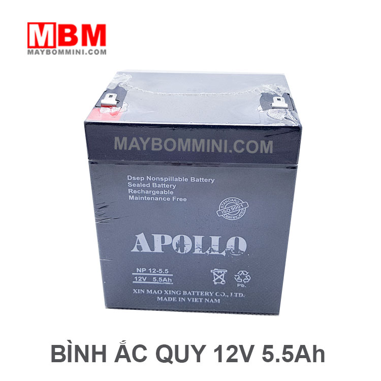 Ac Quy Apollo12v