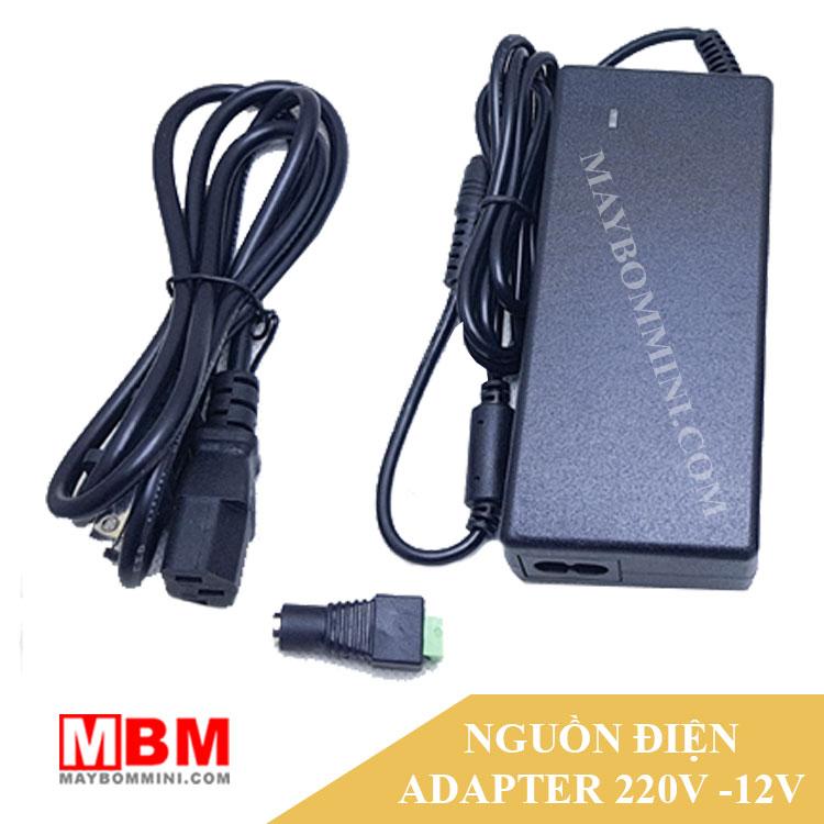Adapter 220v Ra 12v Cho May Bom Mini