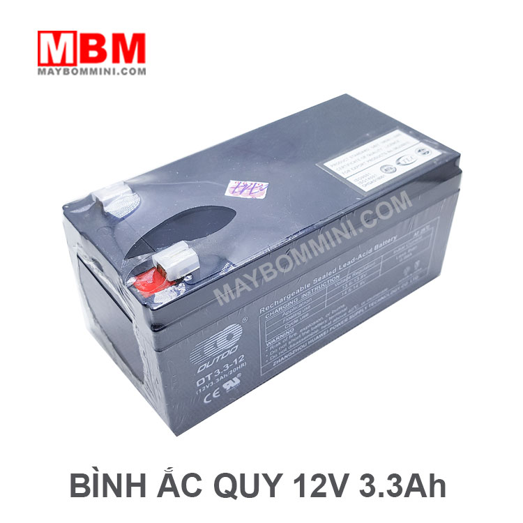 Ban Binh Ac Quy 12v Mini