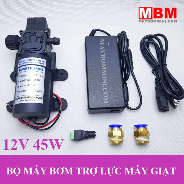 May Bom Nuoc Tro Luc May Giat Gia Dinh