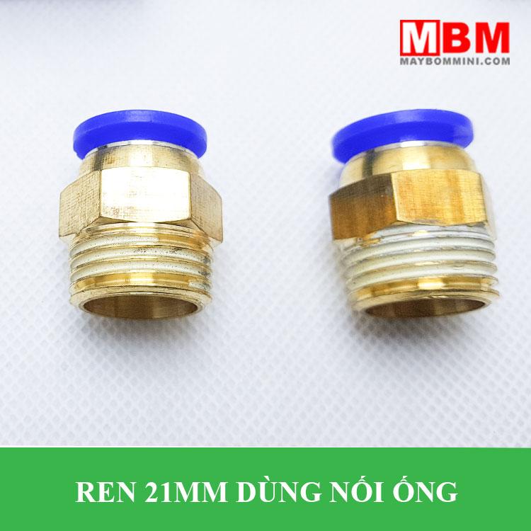 Noi Nhanh Ong 12 Ra Ren 21mm AKS