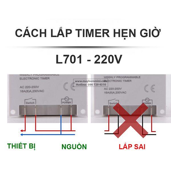 Cach Gan Timer Hen Gio