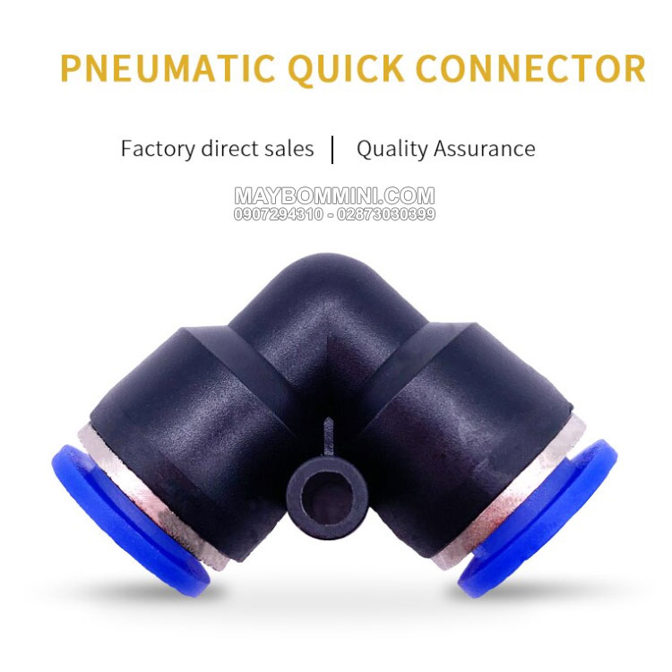 AKS PV Plastic Quick Connector Tube Fitting