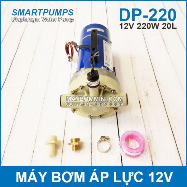 Bom Nuoc Ap Luc 12V 220W 20L