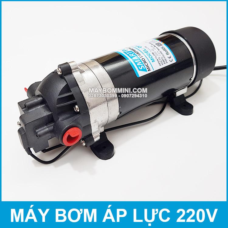 Bom Nuoc Mini 220V Gia Re Ap Luc Manh