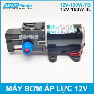Bom Nuoc Mini Ap Luc 12v 100w Smartpumps