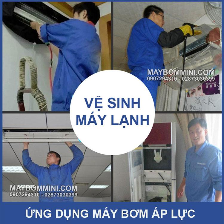 Bom Ve Sinh May Lanh Dieu Hoa