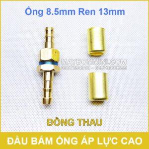 Dau Cost Bam Cong Ap Luc 13mm Dong Thau