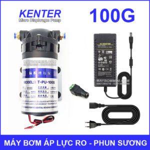May Bom Ap Luc 24V Phun Suong RO 100G Kem Nguon