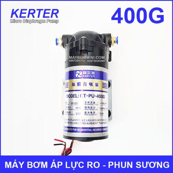May Bom Ap Luc 24V Phun Suong RO 400G