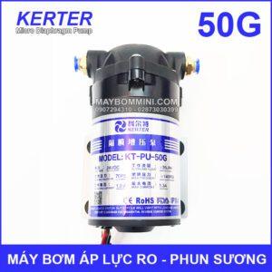 May Bom Ap Luc 24V Phun Suong RO 50G Chinh Hang