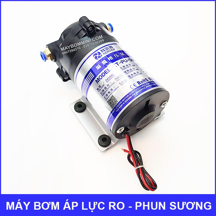 May Bom Ap Luc 24V Phun Suong RO 50G Gia Re