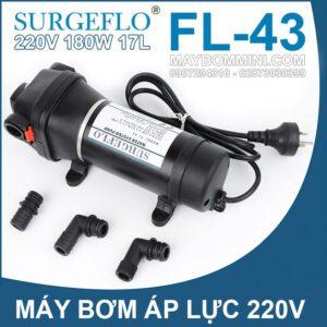 May Bom Ap Luc FL 43 220V 180W 17L SURGEFLO