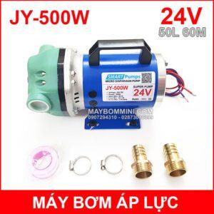 May Bom Ap Luc JY 500W 24V 50L