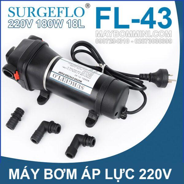 May Bom Ap Luc SURGEFLO FL 43 220V 180W 18L