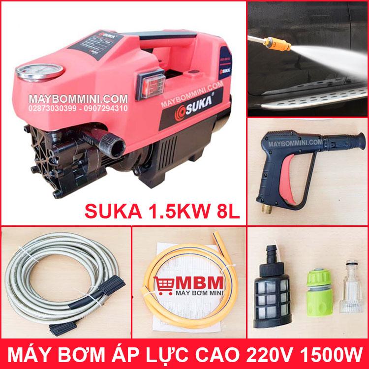 May Bom Ap Luc Cao 220V 1500W Suka Chinh Hang