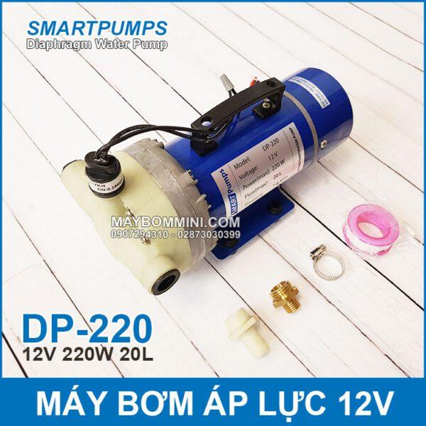 May Bom Ap Luc Mini 12v