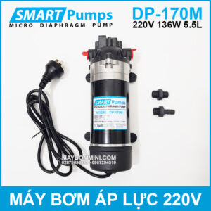 May Bom Ap Luc Mini Smartpumps 220V 135W 170M