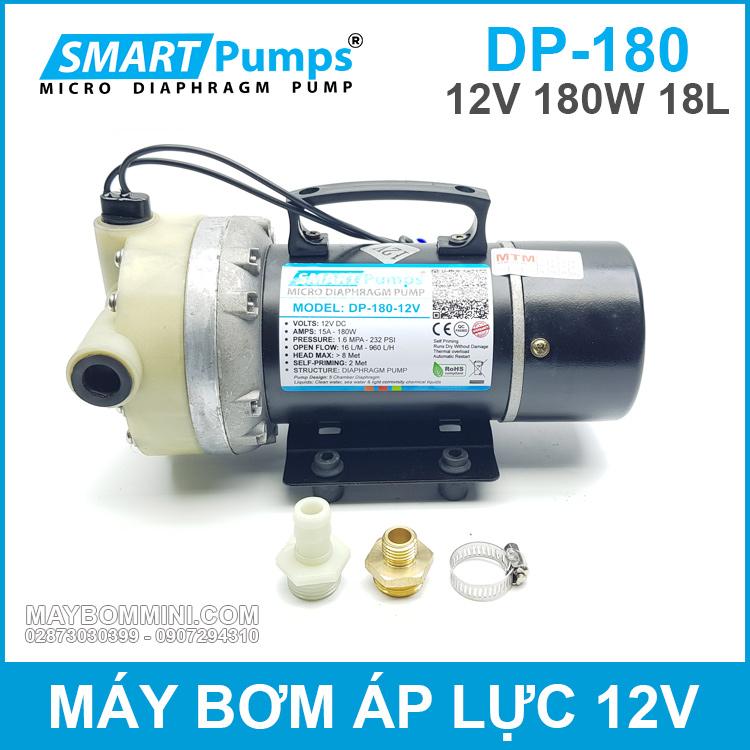 May Bom Ap Luc12V 180W Smartpumps
