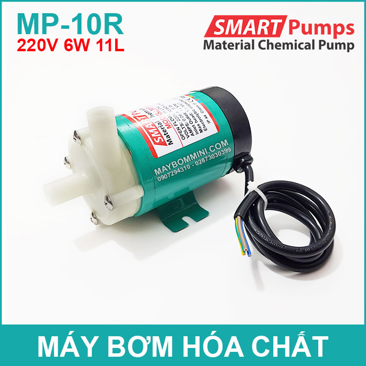 May Bom Hoa Chat 220V 6W 11L MP 10R SMARTPUMPS