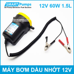 May Bom Hut Nhot Mini 12v