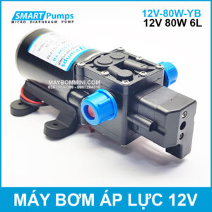May Bom Mini 12v 80w Gia Re Chinh Hang
