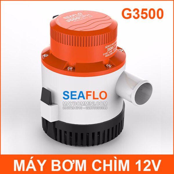 May Bom Nuoc Chim 12V G3500 SEAFLO Chinh Hang