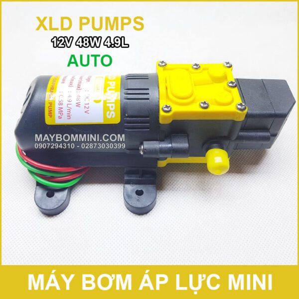 May Bom Rua Xe Mini 12v 48w