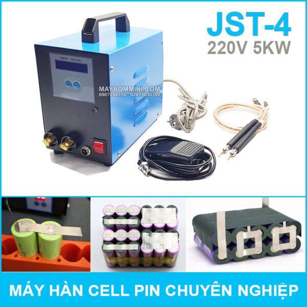 May Han Cel Pin Chuyen Nghiep 220V 5KW JST 4