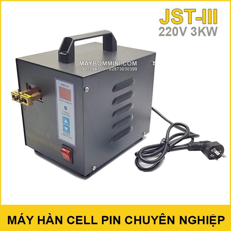 May Han Cell Pin Chuyen Nghiep 22V 3KW JST III Chinh Hang
