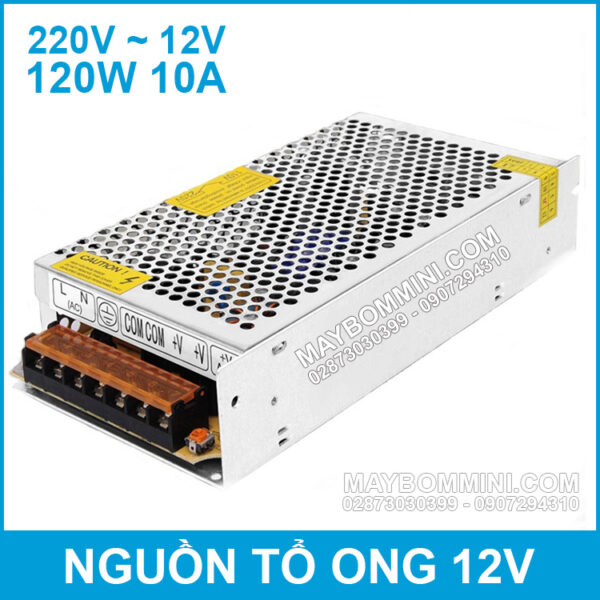 Nguon To Ong 12V 10A 120W