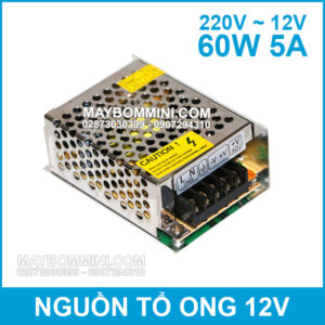 Nguon To Ong 12V 5A 60W