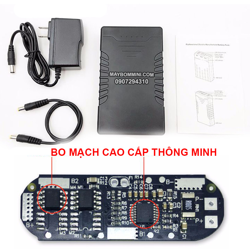 PIN SAC 12V 9800MAH
