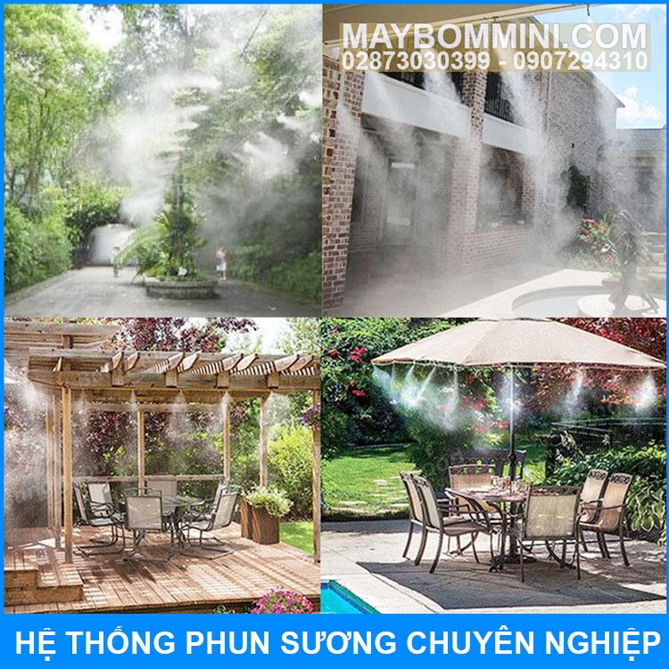 Phun Suong San Vuon Nha Gia Dinh