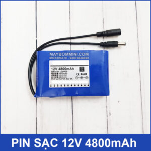 Pin Sac 12V 4800mah Chinh Hang