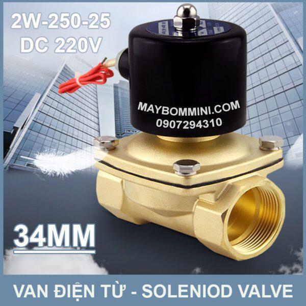 SOLENIOD VALVE Van Dien Tu 220v 2w 250 25