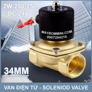SOLENIOD VALVE Van Dien Tu 24v 2w 250 25
